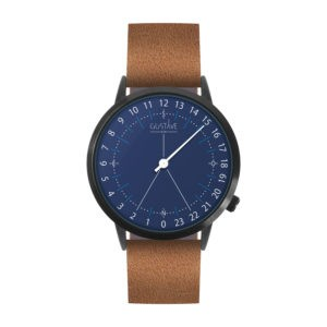 PACKSHOT-WATCHES-24H-Gustave-and-cie-blue-brown-leather