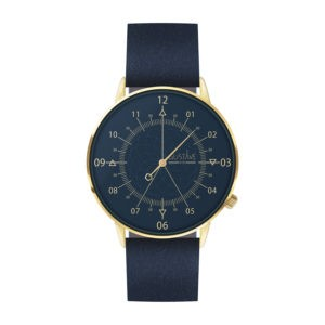 PACKSHOT-WATCHES LOUIS GUSTAVE-and-cie-blue-gold-blue-leather
